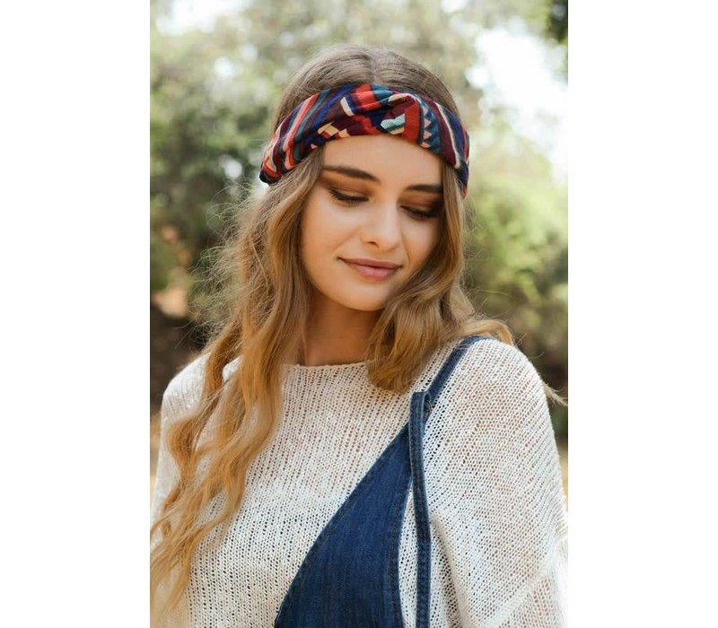 Vintage Corduroy Turban Headband