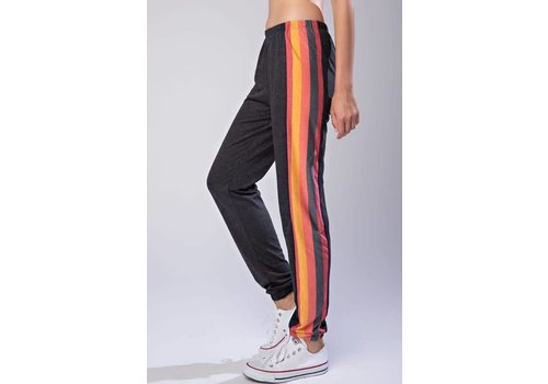 Colorful Stripe Jogger Sweatpants
