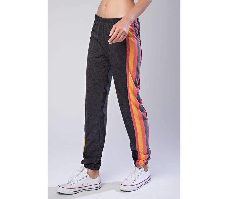 Colorful Stripe Jogger Sweatpants