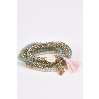 Hamsa Bracelet Stacks