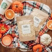 Pumpkin Spice + Coffee Body Scrub