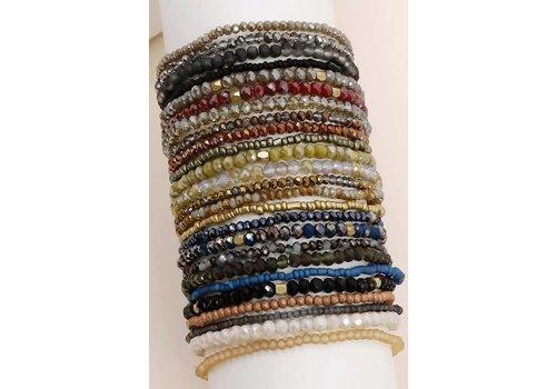 Fall Beaded Bracelet Stacks