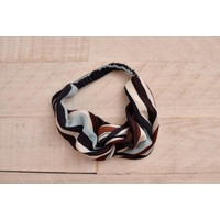 Mod Stripe Turban Headband