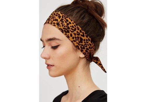 Leopard Print Bandana & Hair Scarf