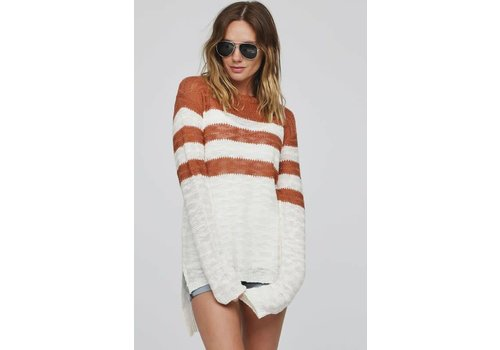 Cinnamon Stripe Sweater