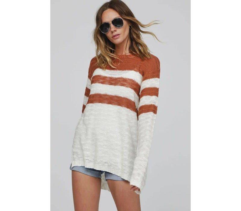 Cinnamon Stripe Sweater
