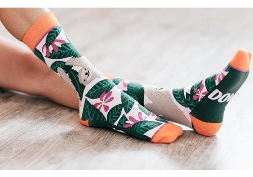 Slow Down Sloth Sloth Socks