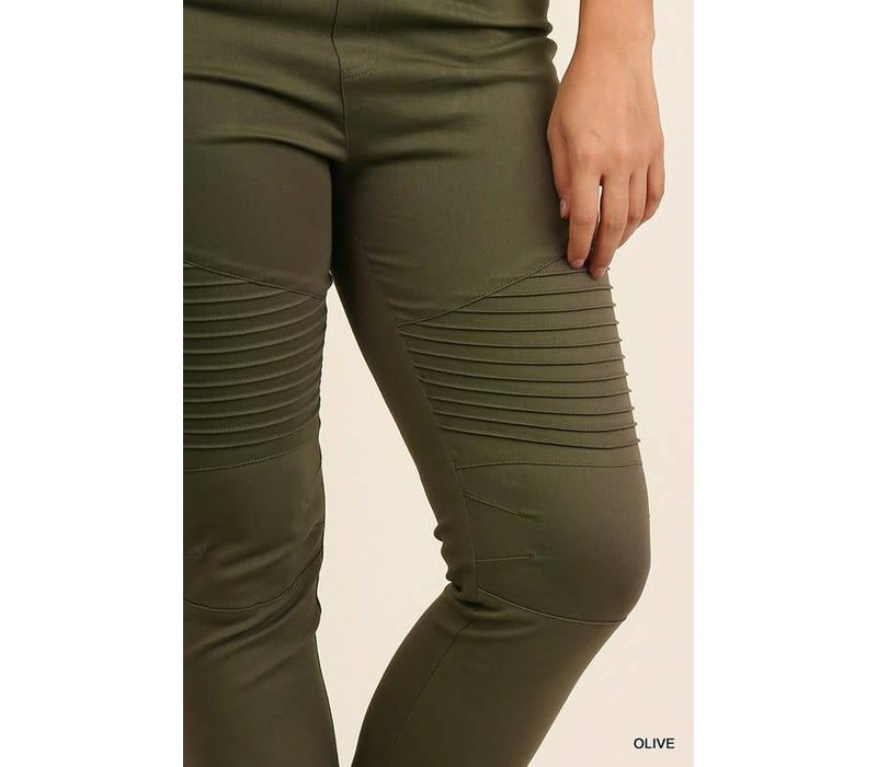 Army Moto Jeggings