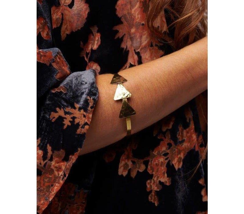 Adjustable Arrow Cuff Bracelet