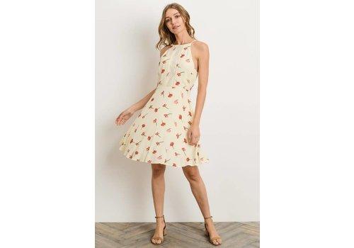 Ladder Lace Tulip Dress
