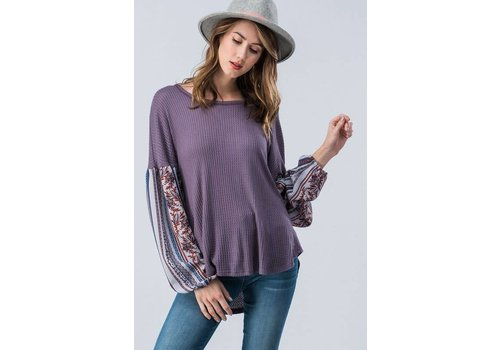 Dusty Purple Bohemian Thermal