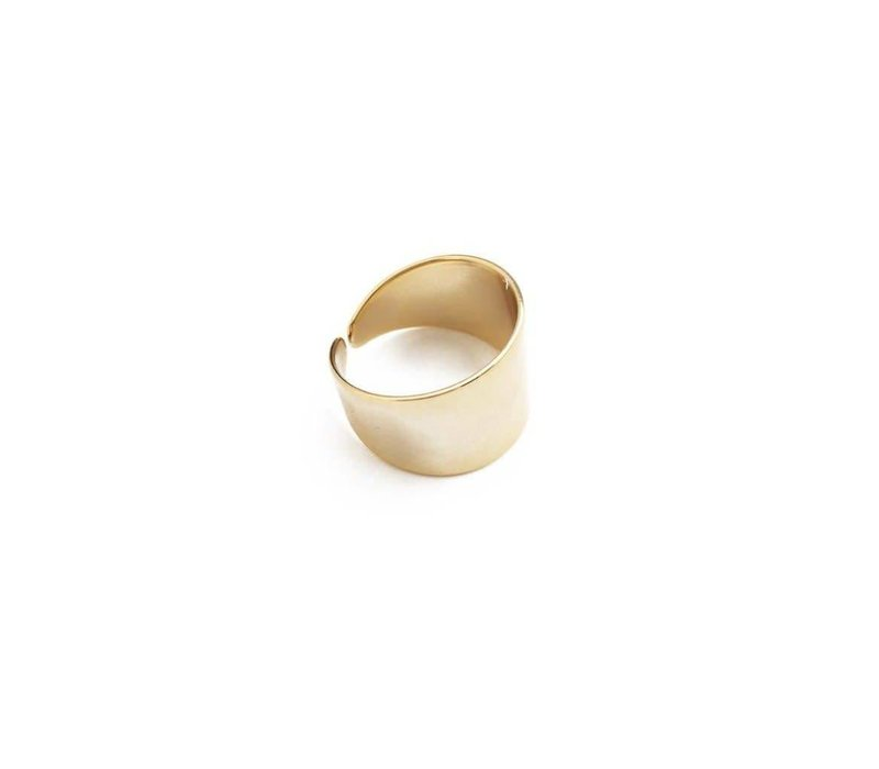 24k Gold Plated Wrap Ring