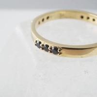 Black Spellbound Ring