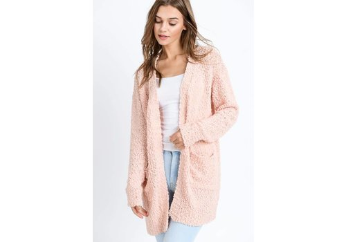 Spring Blush Sweater Cardi