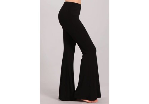 NEW Solid Black Bell Bottoms