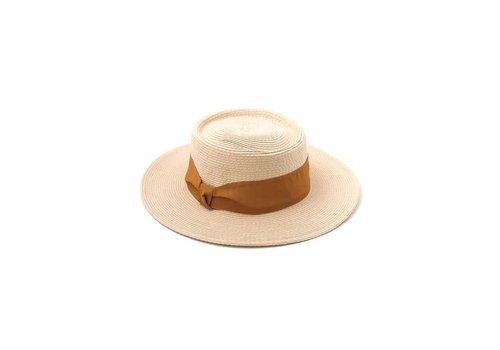 Ivory & Mustard Sun Hat