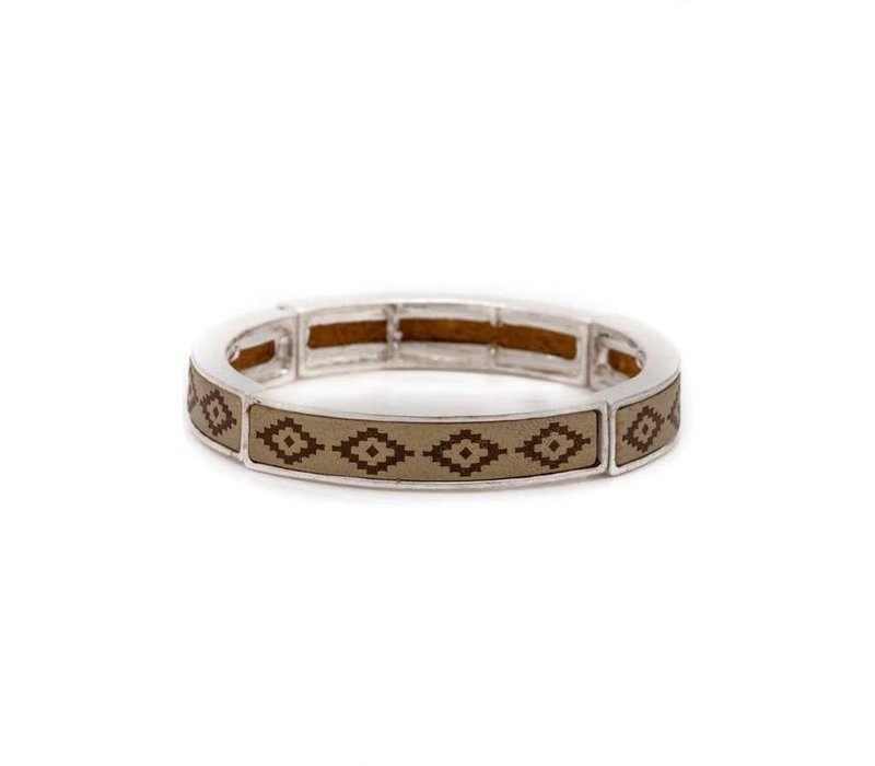 Aztec Bangle (3 Color Choices)