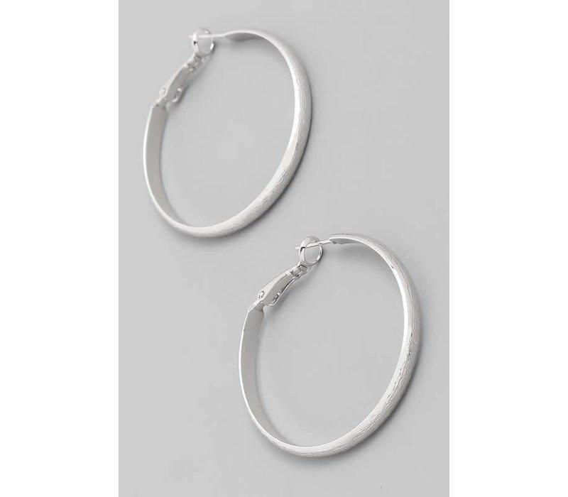 Hoop Earrings (Silver + Gold)