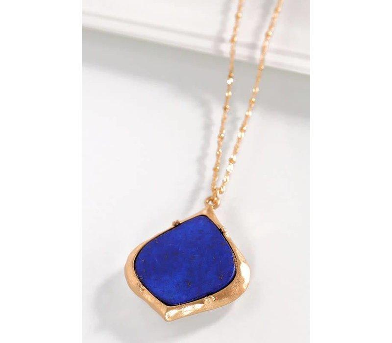Sodalite Stone Necklace