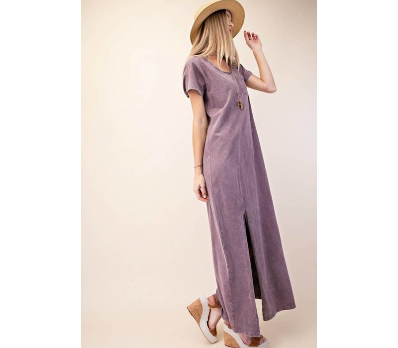 Vintage Mauve Tshirt Dress