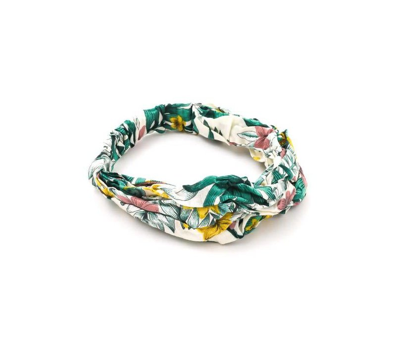 Tropical Print Turban