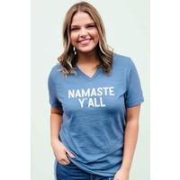 """""""Namaste Y'all"""" Vneck Tee"""