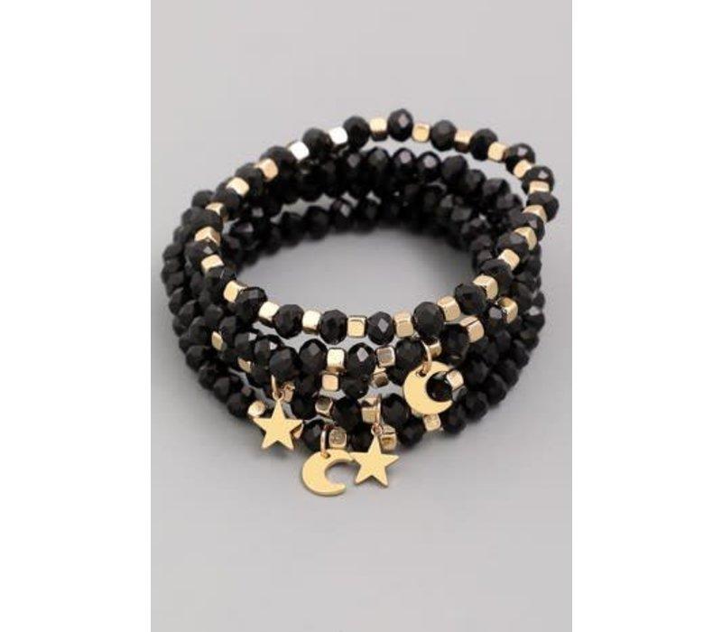 Moon & Stars Bracelet Stack