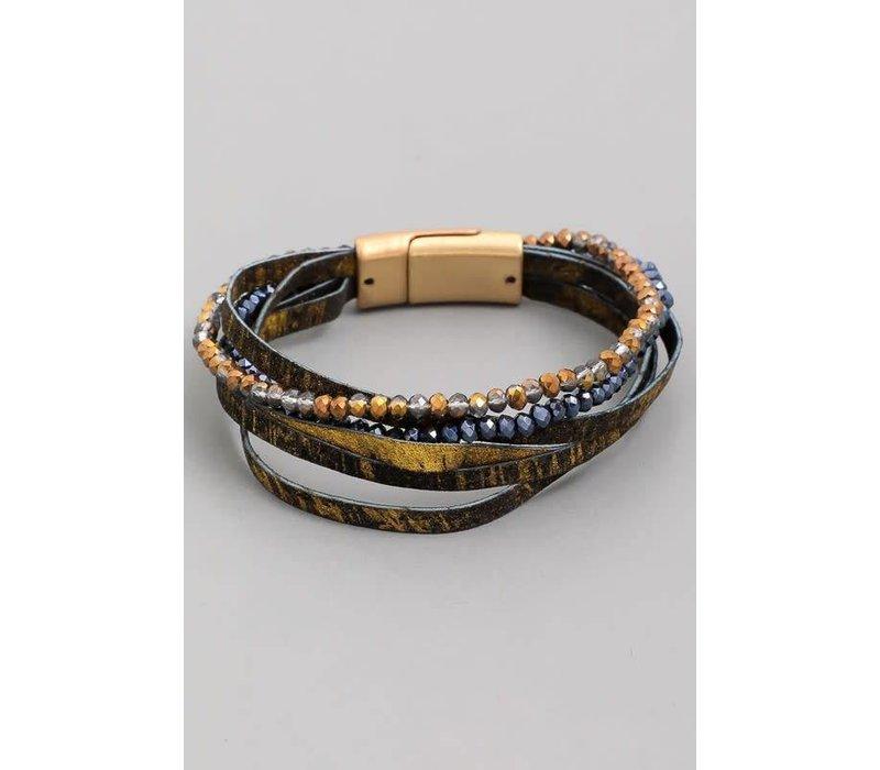 Magnetic Crystal Bracelet