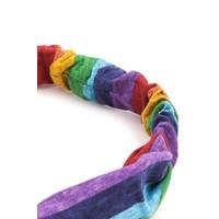 Rainbow Turban Headband