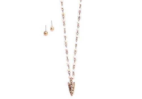 Beaded Arrowhead Necklaces