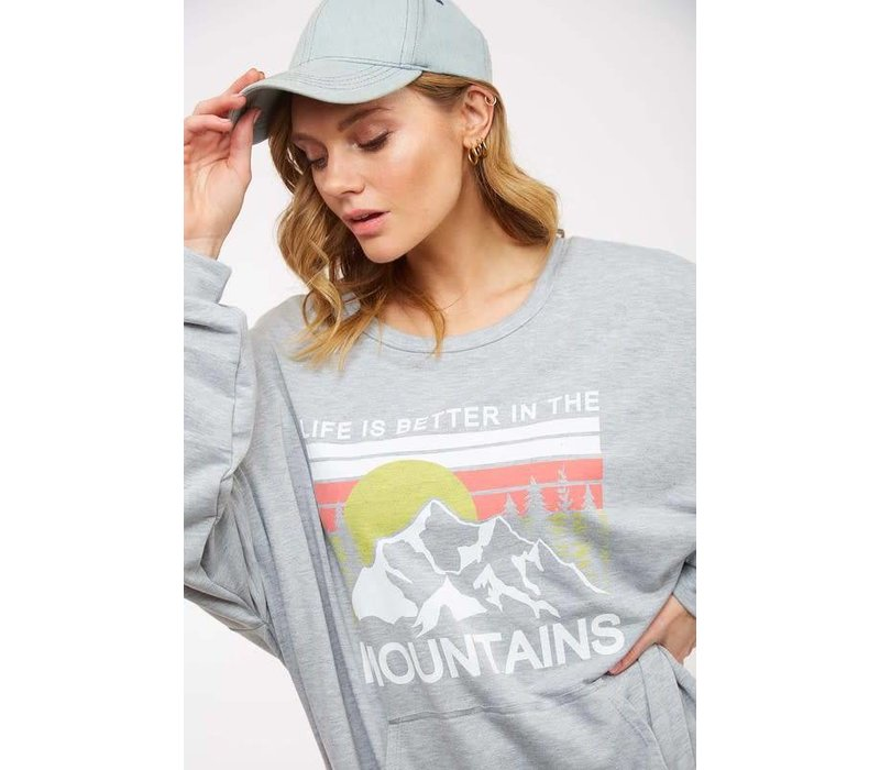 Life is Better in the Mountains Sweatshirt
