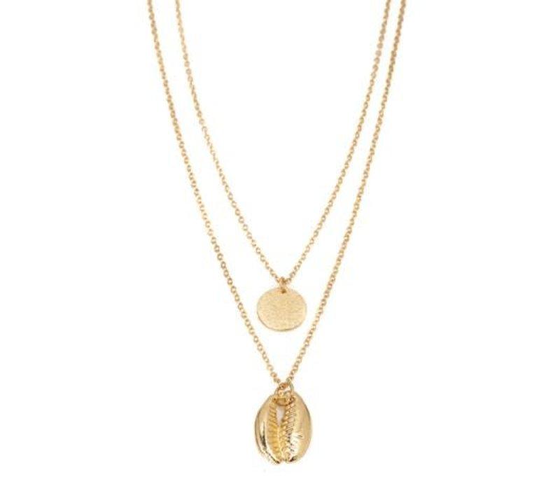 Boho Beach Layered Necklace