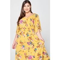 Sunshine Floral Maxi Dress