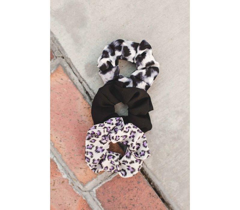 Black Hair Scrunchie