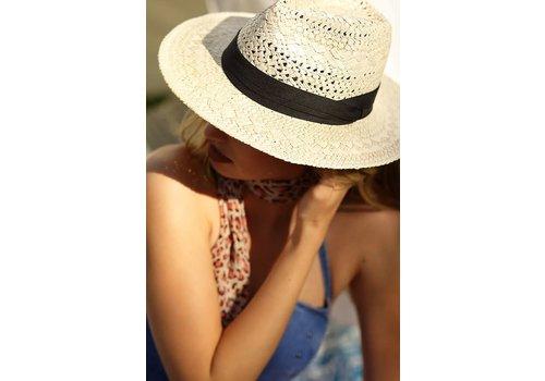 Natural Boho Panama Hat