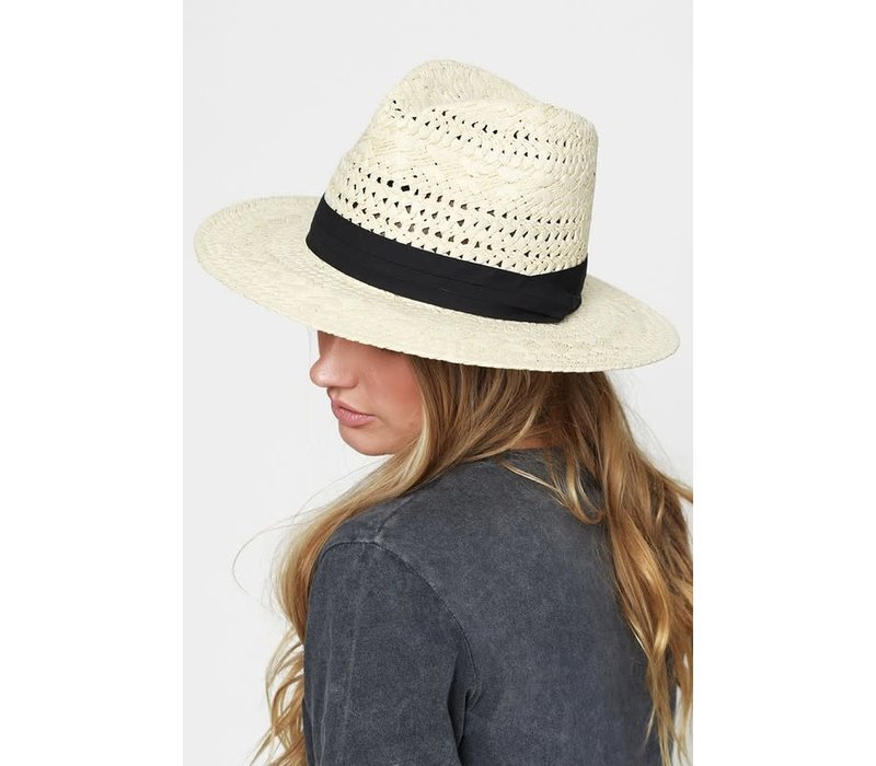 Natural Boho Panama Hat