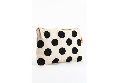 Polka Dot Canvas Bag