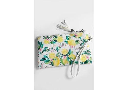 Lemon Blossom Wristlet