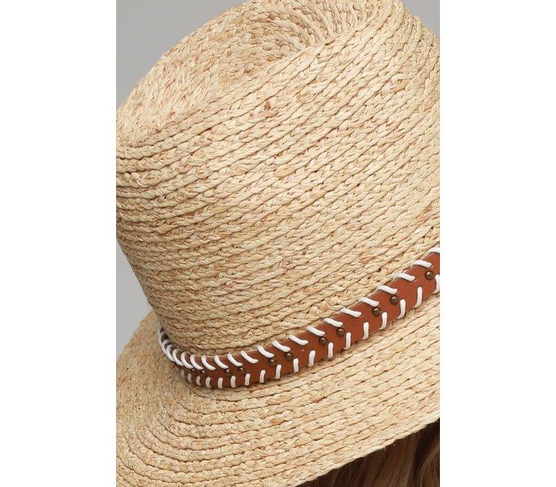 Natural Straw Panama Hat