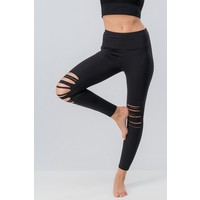 Ripped Knee Yoga Pants