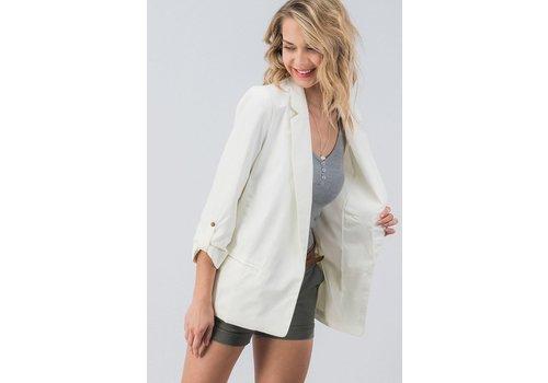 Ivory Blazer Jacket