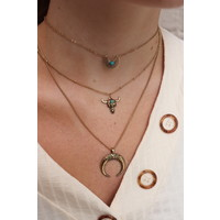 Desert Oasis Layered Necklace