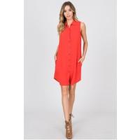 Poppy Linen Shirt Dress