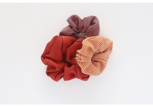 Sunset Scrunchies