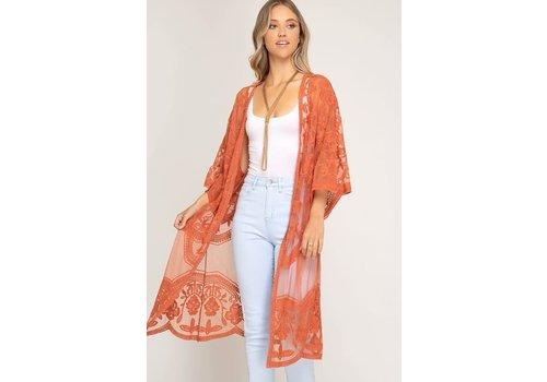 Sienna Lace Kimono