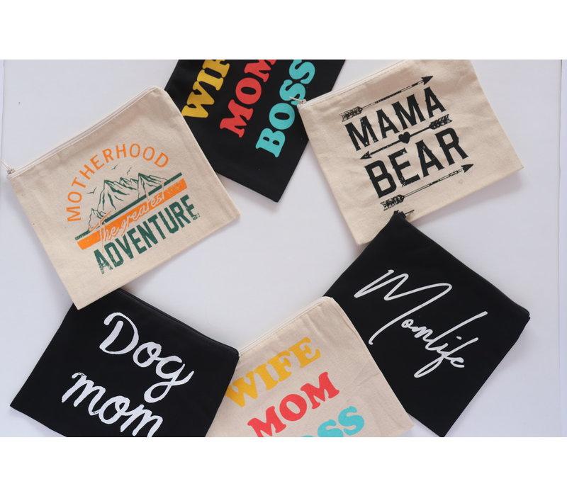Mama Makeup Bags
