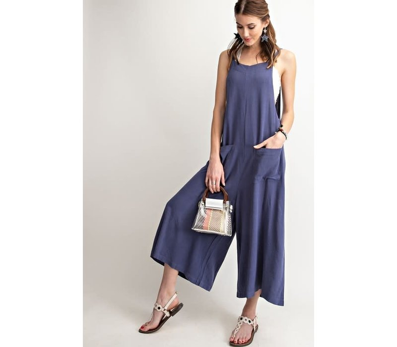 Free Spirit Linen Jumpsuit