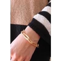 Matte Chain Link Bracelet