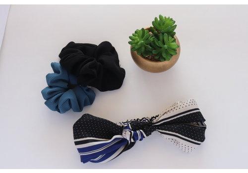 Polka Dot & Stripes Race Turban