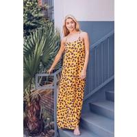 Wild Thang Animal Print Midi Dress